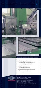 Produktportfolio - Heinrich Georg GmbH Maschinenfabrik - Seite 6