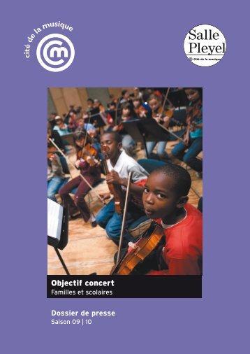Objectif concert