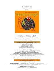 Comptines et chansons de Paris
