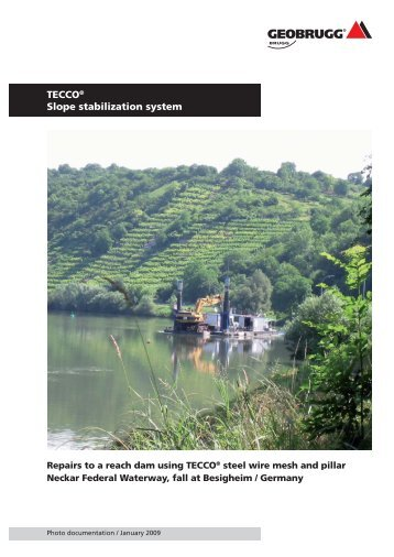 TECCO® Slope stabilization system Fall at ... - Geobrugg AG