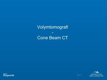 Volymtomografi - Cone Beam CT