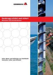 Geobrugg schützt und sichert - Geobrugg AG