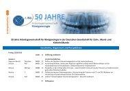 50 Jahre Arbeitsgemeinschaft für Röntgenologie in der Deutschen ...