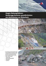 Gegen Naturgefahren: Geobrugg-Systeme ... - Geobrugg AG