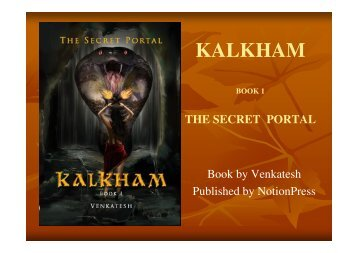 KALKHAM Mystery Series Book 1 -The Secret Portal
