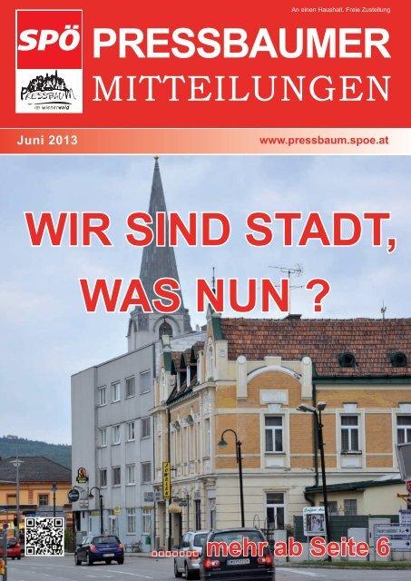 Purkersdorf stadt kennenlernen. Nordburgenland