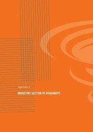 industry sector pi roadmaps