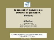 Systèmes de production Elements