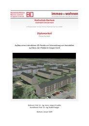 Aufbau eines interaktiven 3Dx - Hochschule Bochum
