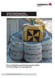 Bessere Dämpfung und Verringerung der Auflast - Geobrugg AG