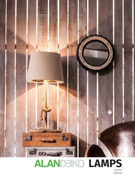 ALANDEKO COLLECTION OF LAMPS