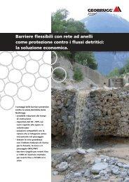 Barriere flessibili con rete ad anelli come protezione ... - Geobrugg AG