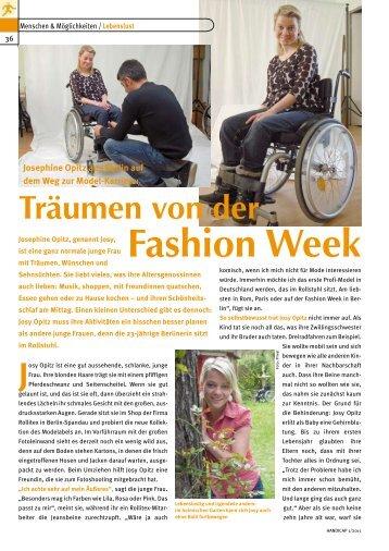 Fashion Week - Herzenswünsche eV