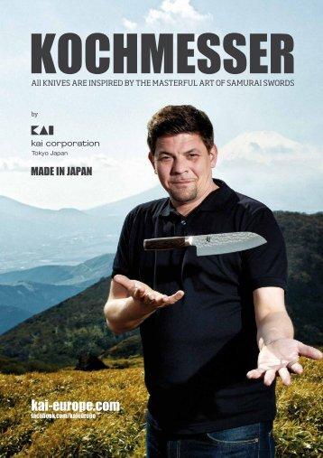 KAI Kochmesser Katalog