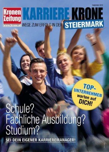 Karriere Krone Steiermark_150918
