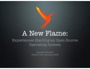 A New Flame