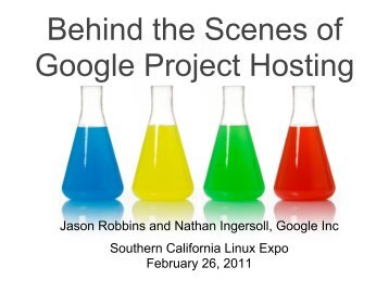 Behind the Scenes of Google Project Hosting