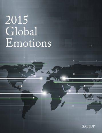 2015 Global Emotions