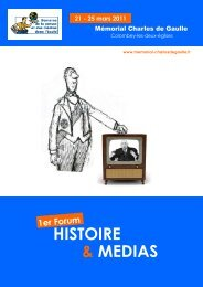 HISTOIRE & MEDIAS