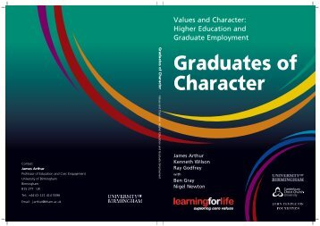 Graduates of Character