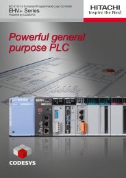 Powerful general purpose PLC