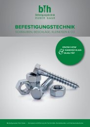 Produktkatalog BTH Anischt