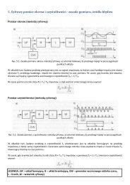 5 Cyfrowy pomiar okresu i częstotliwości - zasada pomiaru źródła błędów