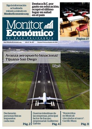 Avanza aeropuerto binacional Tijuana-San Diego