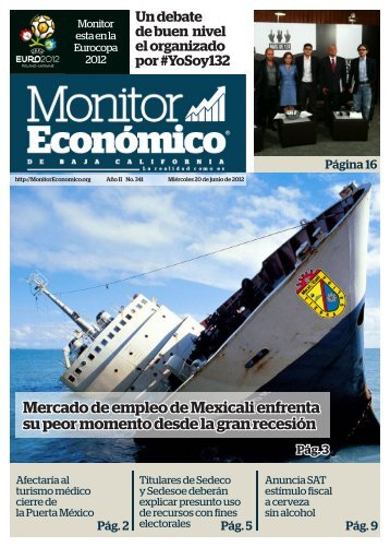 Mercado de empleo de Mexicali enfrenta su peor momento desde la gran recesión