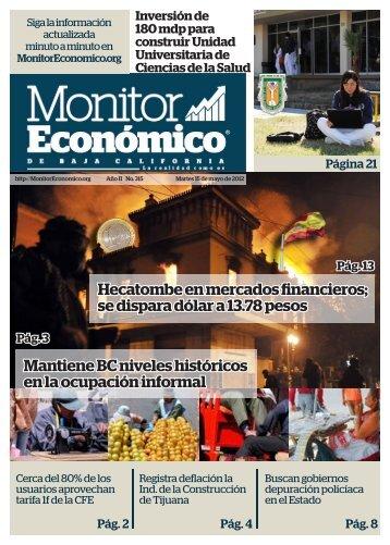 Hecatombe en mercados financieros - MonitorEconomico.org