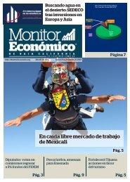 En caída libre mercado de trabajo de Mexicali