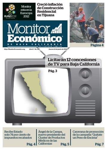 Licitarán 12 concesiones de TV para Baja California