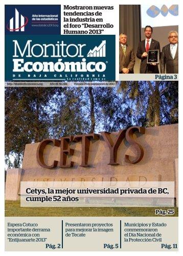 Cetys la mejor universidad privada de BC cumple 52 años