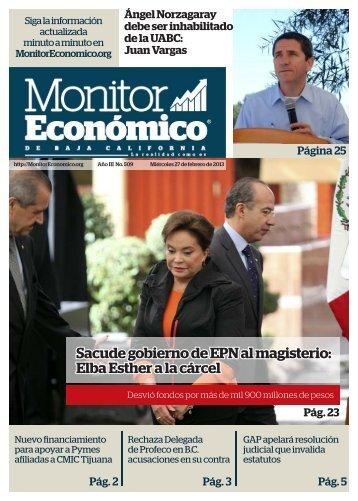 Sacude gobierno de EPN al magisterio Elba Esther a la cárcel