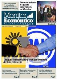 Van juntos PAN y PRD por la gubernatura de Baja California