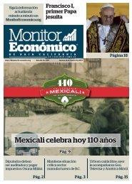 Mexicali celebra hoy 110 años