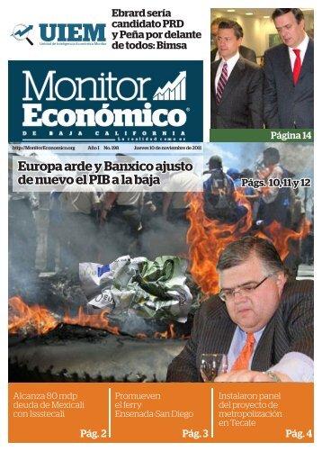 Europa arde y Banxico ajusto de nuevo el PIB a la baja