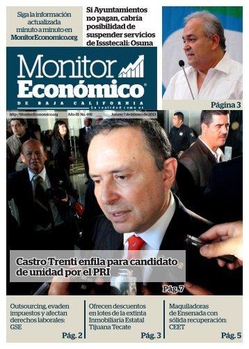 Castro Trenti enfila para candidato de unidad por el PRI
