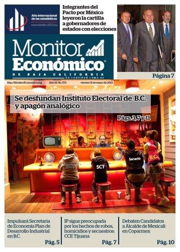 Se desfundan Instituto Electoral de B.C y apagón analógico