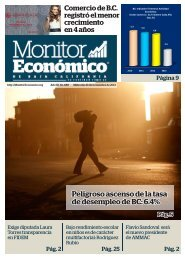 Peligroso ascenso de la tasa de desempleo de BC 6.4%