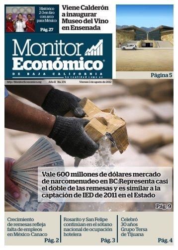 el doble de las remesas y es similar a la captación de IED de 2011 en el Estado
