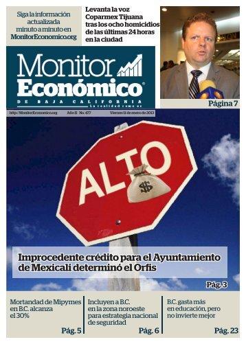 Improcedente crédito para el Ayuntamiento de Mexicali determinó el Orfis