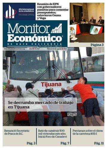 Se derrumba mercado de trabajo en Tijuana