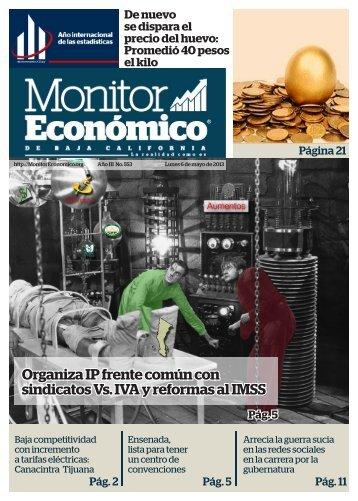 Organiza IP frente común con sindicatos Vs IVA y reformas al IMSS
