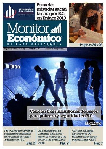 07 agosto 2013.pdf - MonitorEconomico.org