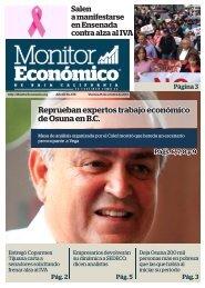 Reprueban expertos trabajo económico de Osuna en B.C