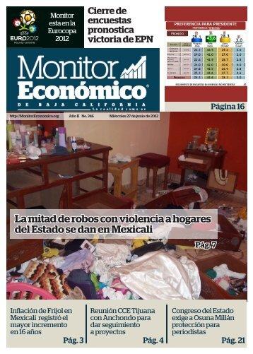 La mitad de robos con violencia a hogares del Estado se dan en Mexicali