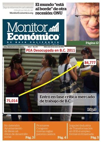 18 enero 2012 - MonitorEconomico.org