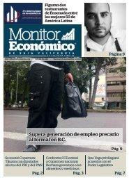 Supera generación de empleo precario al formal en B.C