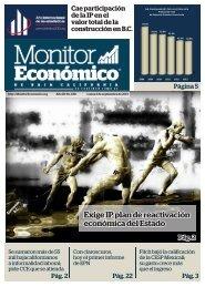 Exige IP plan de reactivación económica del Estado
